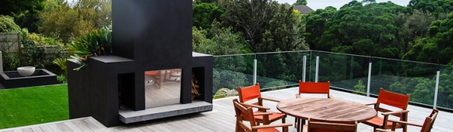 outdoor fires kitchens create a scape new plymouth taranaki