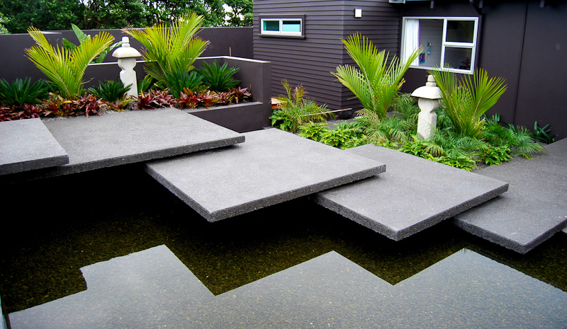 Creative modern landscaping create a scape new for Modern backyard landscaping