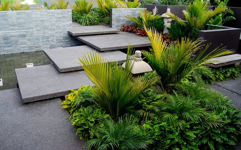 after create a scape landscaping