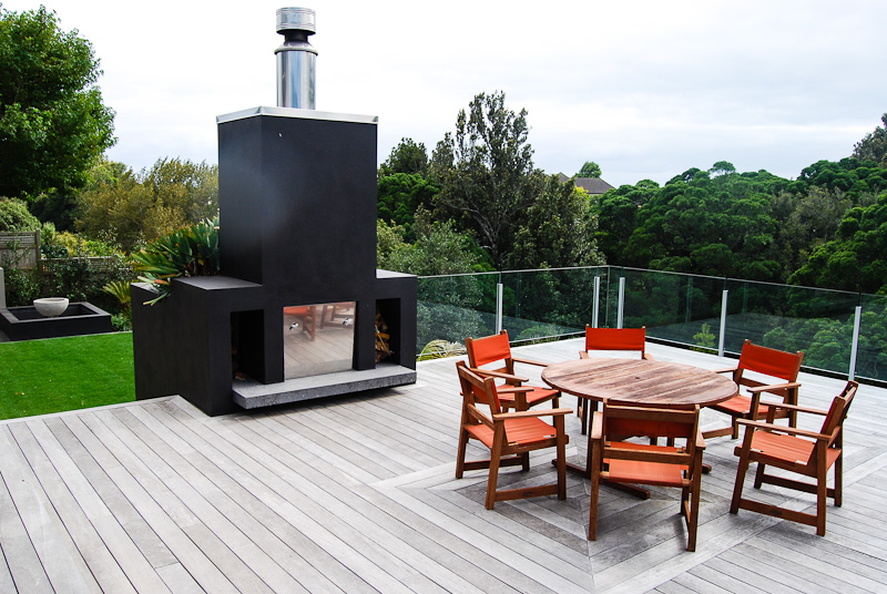 Outdoor Fires Kitchens Create A Scape New Plymouth Taranaki Landsc